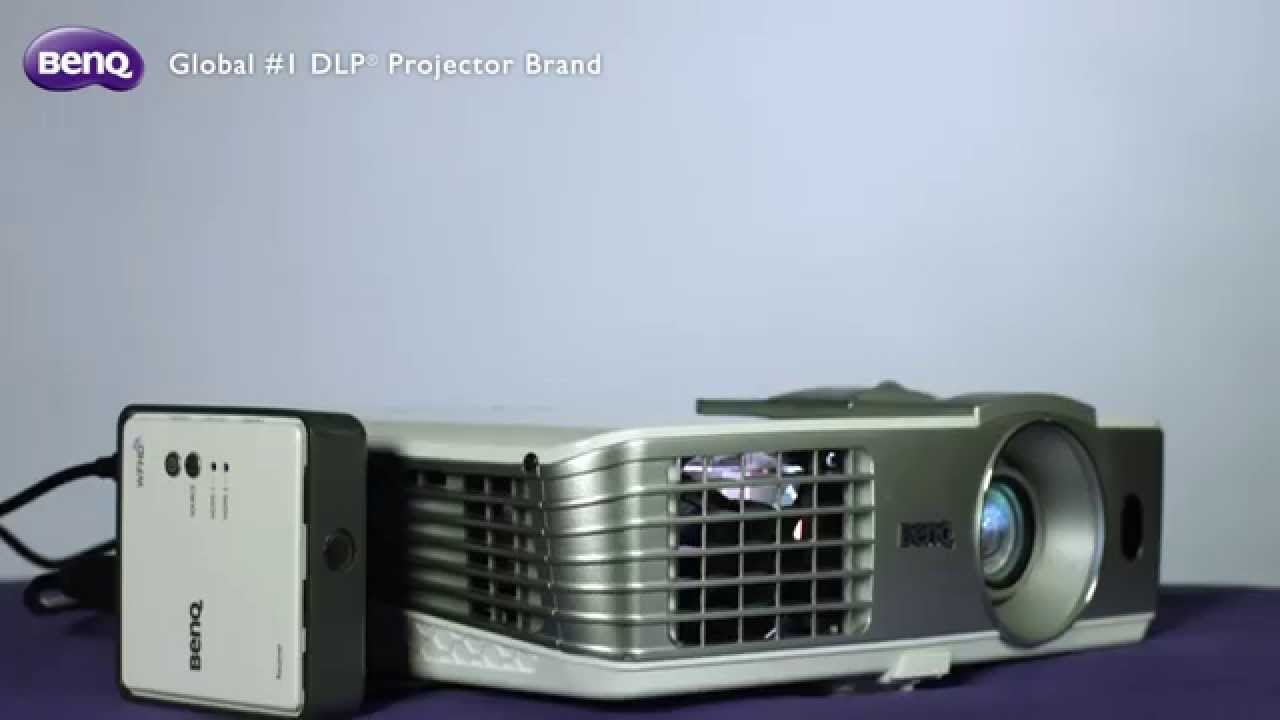 BenQ Living Room Projector - How to Set Up Wireless Full HD Kit