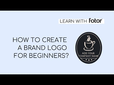 How To Design A Logo For Free In Fotor | Logo Maker |Tutorial