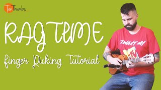 Easy Ragtime Fingerpicking Ukulele Tutorial With Tabs
