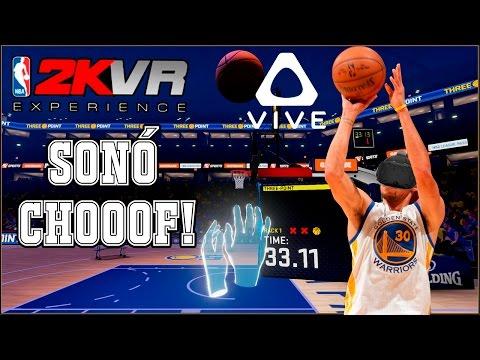 NBA 2KVR: EXPERIENCE | PROBÁNDOLO EN LAS HTC VIVE!
