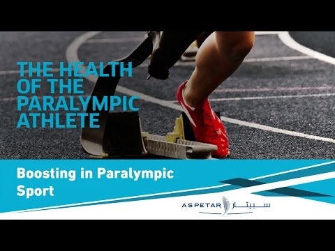 Boosting in IPC Athletics - Time  for Change? - Nick Webborn