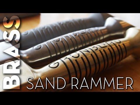 Casting Brass | Sand Rammer - 3D Printed Pattern