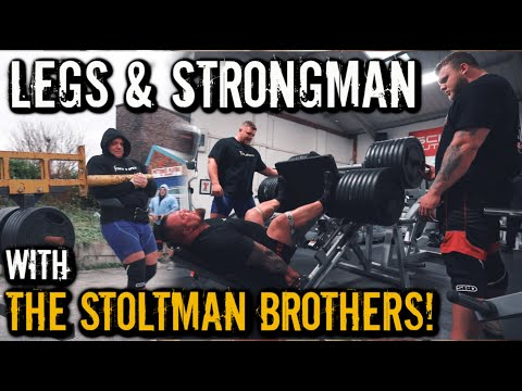 BRITAINS STRONGEST MAN PREP | STOLTMAN BROTHERS
