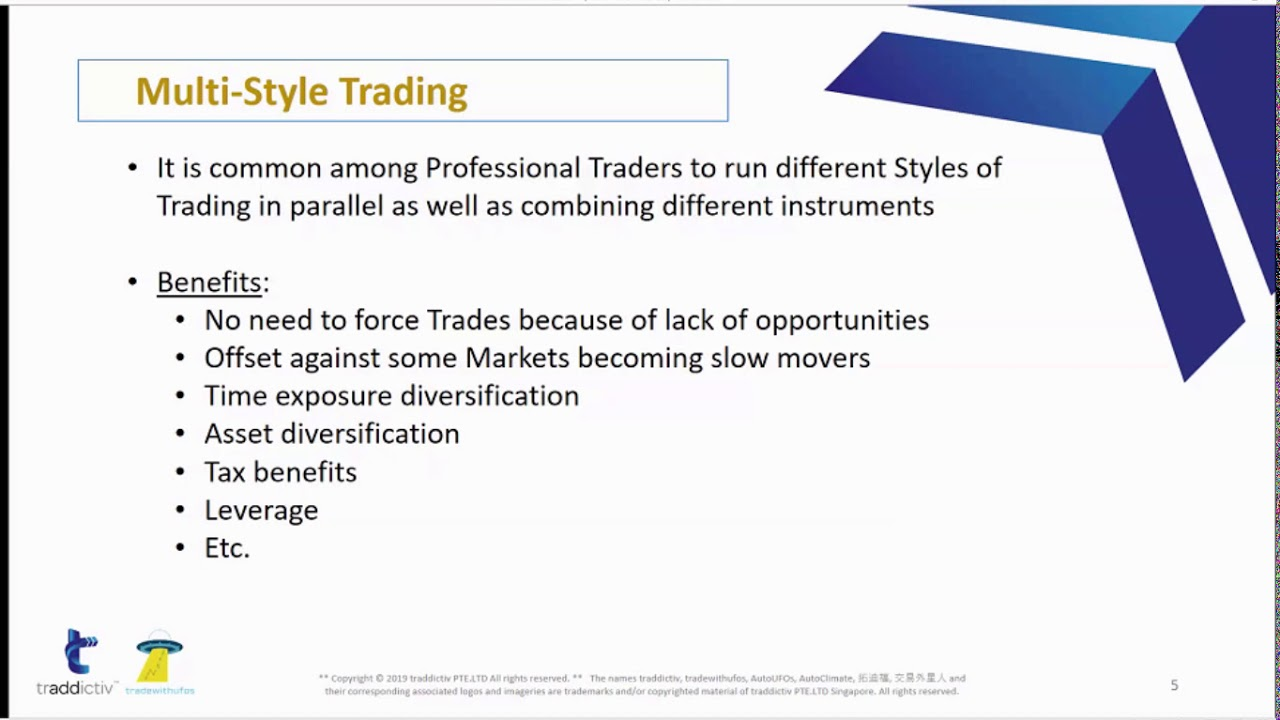 Introduction to Trading a Mix of Instruments