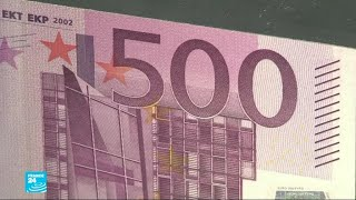البنك المركزي الأوروبي يوقف إصدار الورقة النقدية من فئة 500 يورو