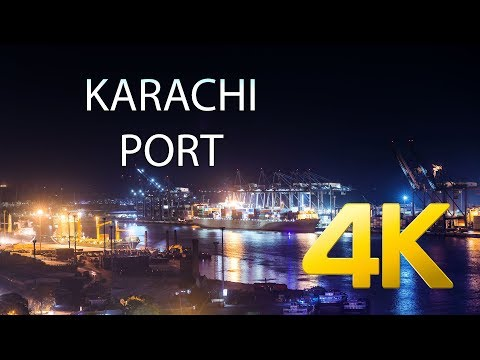 Karachi Port - West Wharf - 4K Ultra HD - Karachi Street Vie