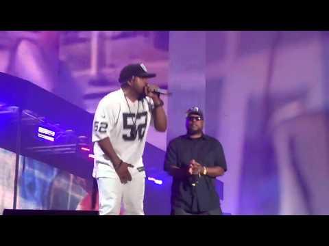 Ice Cube MC Ren & DJ Yella - Fuck Tha Police N.W.A Reunion live at Coachella 2016