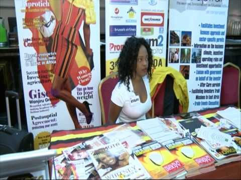The Promota stall at the 3rd Ugandan Convention UK