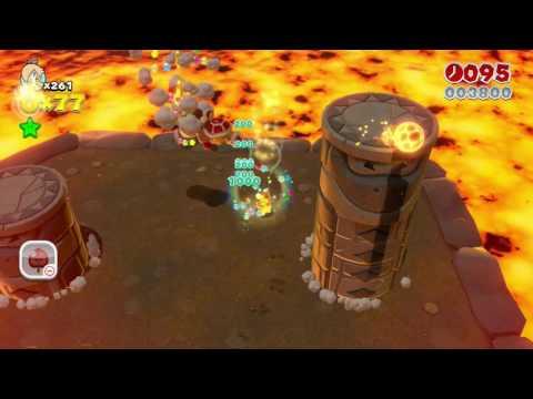 Super Mario 3D World: World 5-B - Fire Bros. Hideout #2 (Rosalina)