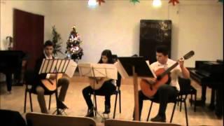 Trio de chitare - Johann Mattheson (1681-1764)