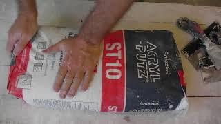 Какой шпаклевкой шпаклевать потолок. Шпаклевка акрил путс