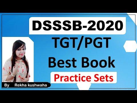 DSSSB TGT & PGT BEST BOOK 2020 II ONLY TWO PRACTICE SET II BEST PREPARATION II NEW EXAM PATTERN