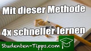 4x schneller lernen 💪 Feynman Methode besser und richtig lernen im Studium und Uni🎓 StudentenTipps