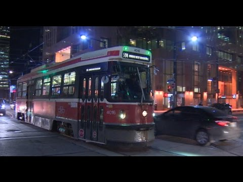 Toronto streetcar sex ties up traffic