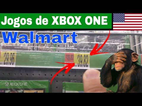 Precos de Jogos XBox One no Walmart USA