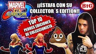 ¡¡MARVEL VS CAPCOM: INFINITE ESTAFA CON SU EDICIÓN COLECCIONISTA!! | Top 10 Collector´s Edition -BtG