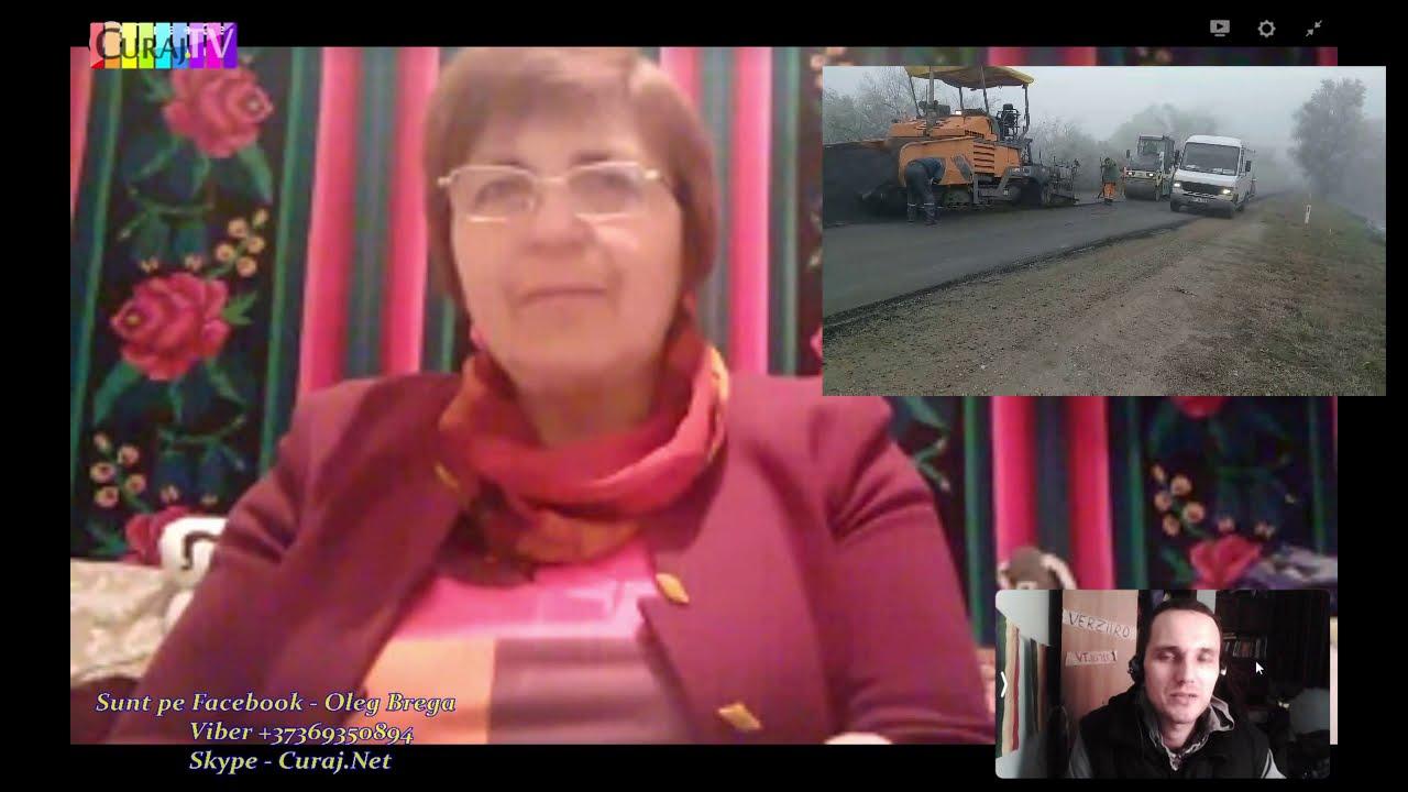 Revoltată că se repară drumul iarna - Curaj.TV