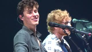 """Mercy"" Shawn Mendes & Ed Sheeran - Barclays Brooklyn 8.16.17"
