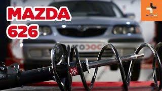 Kaip pakeisti priekinė pakabos spyruoklė, priekiniai amortizatoriai MAZDA 626 PAMOKA | AUTODOC
