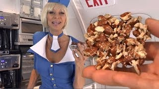 Stewardess Nut Crunch -Make your own Healthy Airplane Travel Food. Cara Brotman