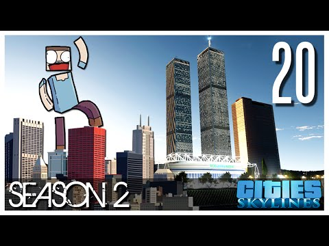 Cities Skylines - S2 Ep.20 : The World Trade Center!