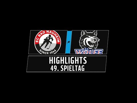 DEL2 Highlights 49. Spieltag | EC Bad Nauheim vs. EHC Freiburg