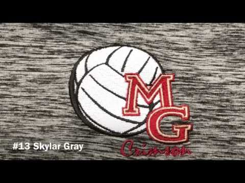 Skylar Gray Maple Grove Volleyball vs Totino-Grace Hitting Highlights