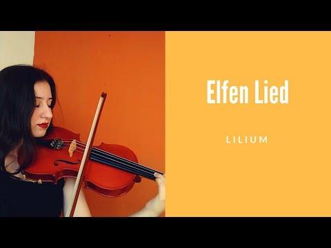 Lillium - Elfen Lied Theme ( Violin Cover )