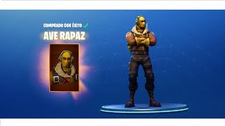 Winning with The Best Legendary Skin AVE RAPAZ!! FORTNITE: Battle Royal - kelly