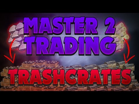 Leveling to Master 2 Trading - Trash Crate Method