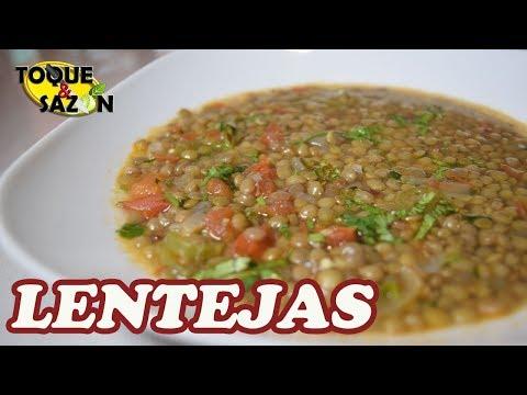 Como Cocinar LENTEJAS De Manera Fácil Y Práctico (Toque Y Sazón)