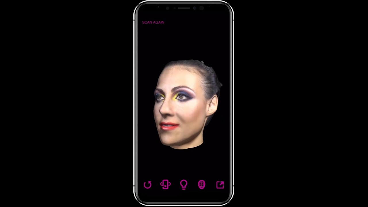 Bellus3D uses the iPhone X's TrueDepth camera to 3D scan