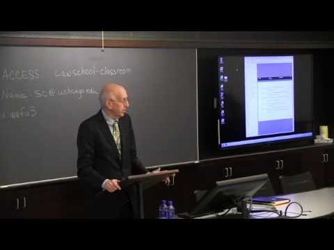 Richard Posner, Empirical Legal Studies Conference keynote