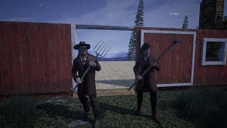 Outlaws of the old west MP E51 New Barn and farming stuff