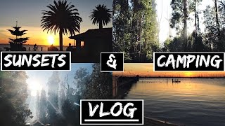 Date Night, Camping, Beach Sunsets & Healthy Grocery Haul!