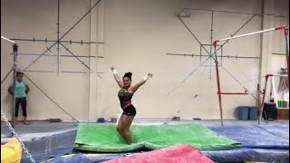 Laurie Hernandez: Possible Uneven Bars Routine for 2020