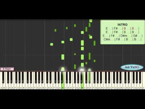 Belajar Piano - Surat Cinta Untuk Starla (virgoun)  Cover Tutorial