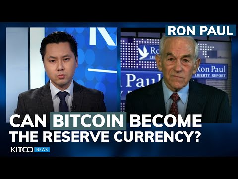 Should Bitcoin Be A Reserve Currency? Is Gold Price 'fixed'? Ron Paul Answers (Pt 2/2)