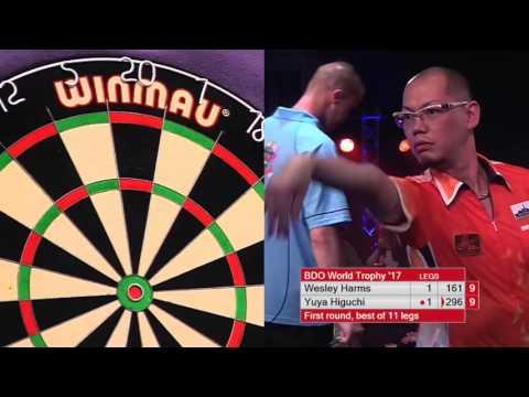 Darts World Trophy 2017 Round 1 Harms vs Higuchi