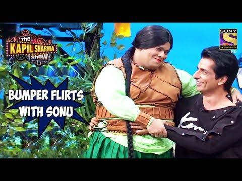 Bumper Flirts With Sonu Sood – The Kapil Sharma Show