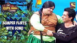 Bumper Flirts With Sonu Sood - The Kapil Sharma Show