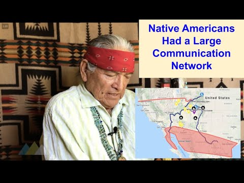 Native Americans Had A Vast Communication Network