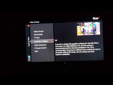 Your TV Settings Are Wrong Set Top Box FiOS Xfinity