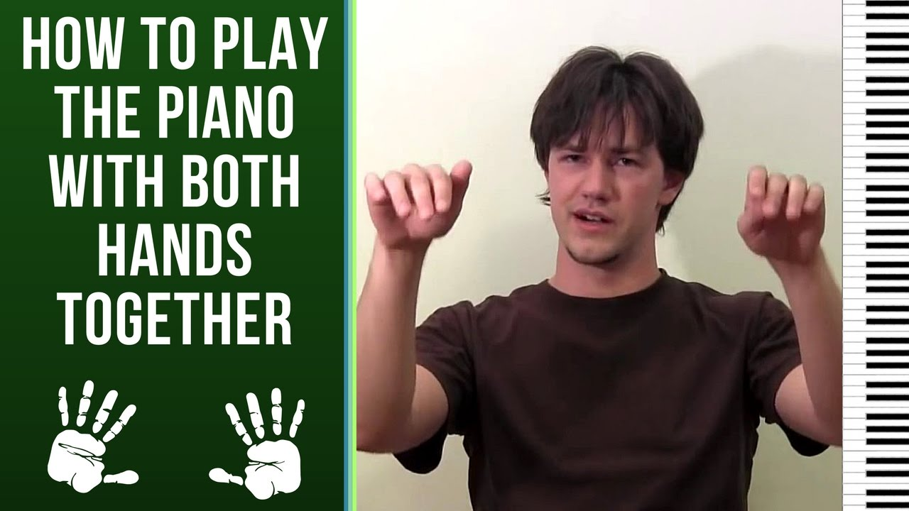 how to play keyboard with both hands for beginners