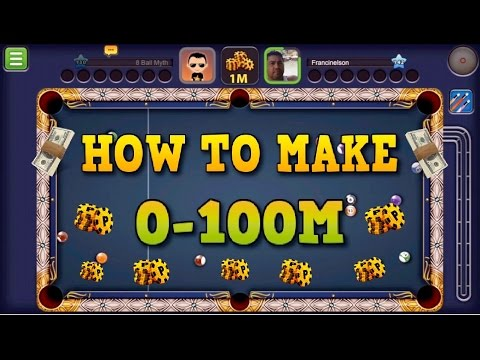 8 Ball Pool Strategy Guide - How to Make 100 Million Coins | No Hacks/Cheats