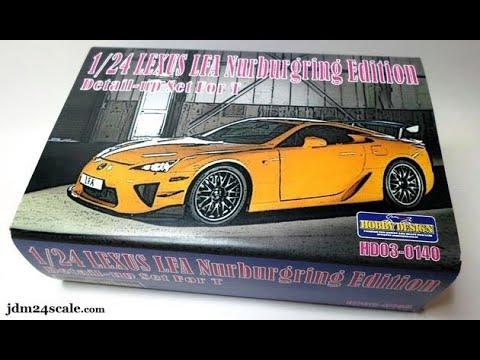 1/24 Lexus LFA Nurburgring Edition Detail-Up set: REVIEW