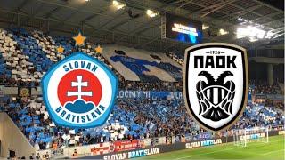 ŠK Slovan Bratislava - PAOK FC   Ultras Slovan Pressburg   Europa League Play Off
