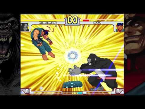 Dear God, someone has made Harambe vs. Capcom