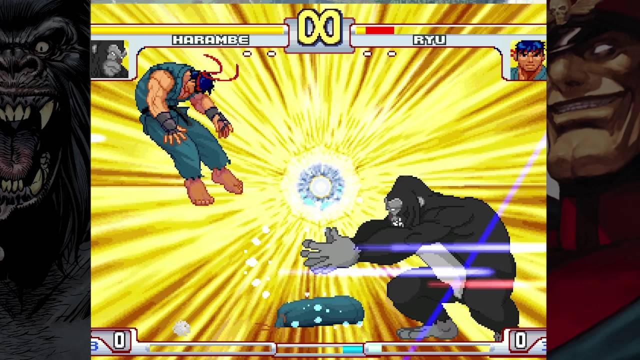Harambe vs  Capcom fighting game created - Geek com