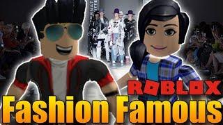 MOJE HOLKA MI VYBÍRÁ OUTFIT V ROBLOXU! 😍😂   ROBLOX: Fashion Famous w/Markét